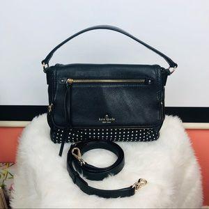 Kate Spade | leather polka dot purse